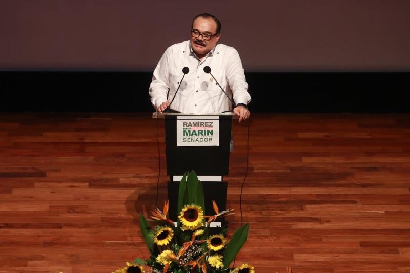 Trabajaremos para que Yucatán avance: Ramírez Marín