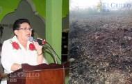 La alcaldesa de Chicxulub quita terrenos, para cumplir promesas de campaña