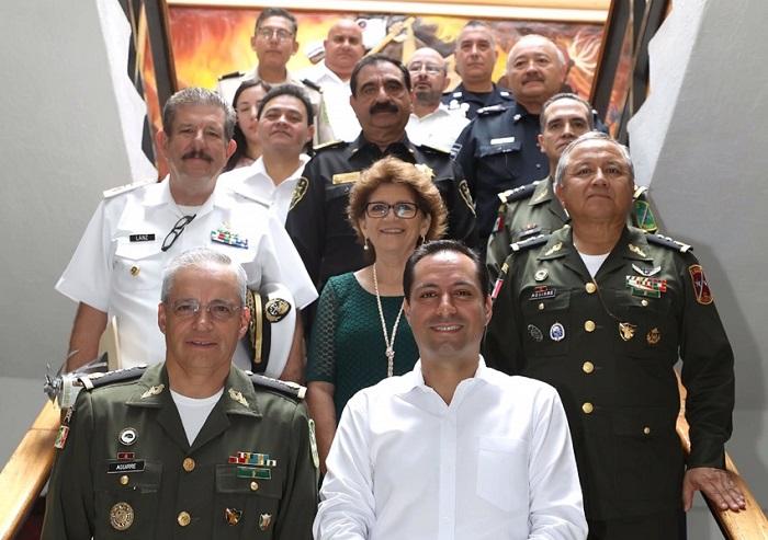 Resultado de imagen para Yucatán, sin delitos como homicidio doloso, secuestro y extorsión: 'Semáforo Delictivo'
