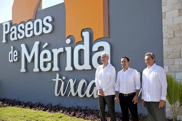 """Con una inversión de cinco mdp presentan el proyecto """"Paseos de Mérida Tixcacal"""""""