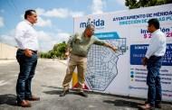 Con una inversión de más de dos mdp mejoran las calles de la colonia El Roble Agrícola