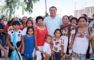 """Renán Barrera se reúne con la fuerza femenina de Mérida, en el segundo """"corte"""" rumbo a su Primer Informe"""