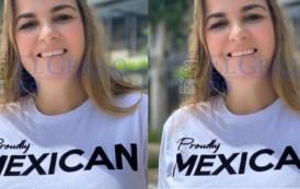 """La diputada de regalo presume en inglés su """"orgullo mexicano"""""""