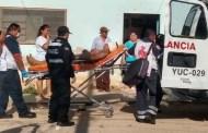 Trabajador cae de una altura de dos metros y termina en el hospital