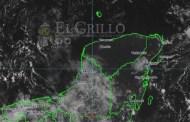 Jueves con más lluvias por la onda tropical 43 y calor de 36º C, en Yucatán