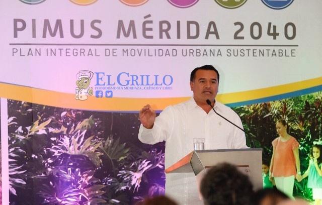 Cien millones de pesos para mejorar la movilidad urbana de Mérida