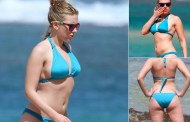 Scarlett Johansson presume cuerpazo y celulitis
