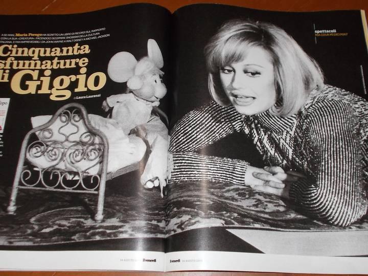 A los 95 años de edad, fallece la creadora de Topo Gigio