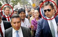 Evo Morales, con escoltas que ni AMLO tiene