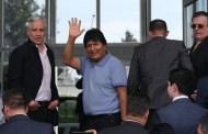 Evo Morales, de