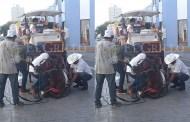 Otra vez colapsa un caballo que tiraba una calesa, en el centro de Mérida
