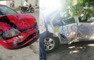"Quintanarroense despistado choca en la ""Mercedes Barrera"""