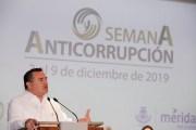 Mérida busca acabar con la corrupción