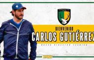 Designan a Carlos Gutiérrez como nuevo entrenador de Venados