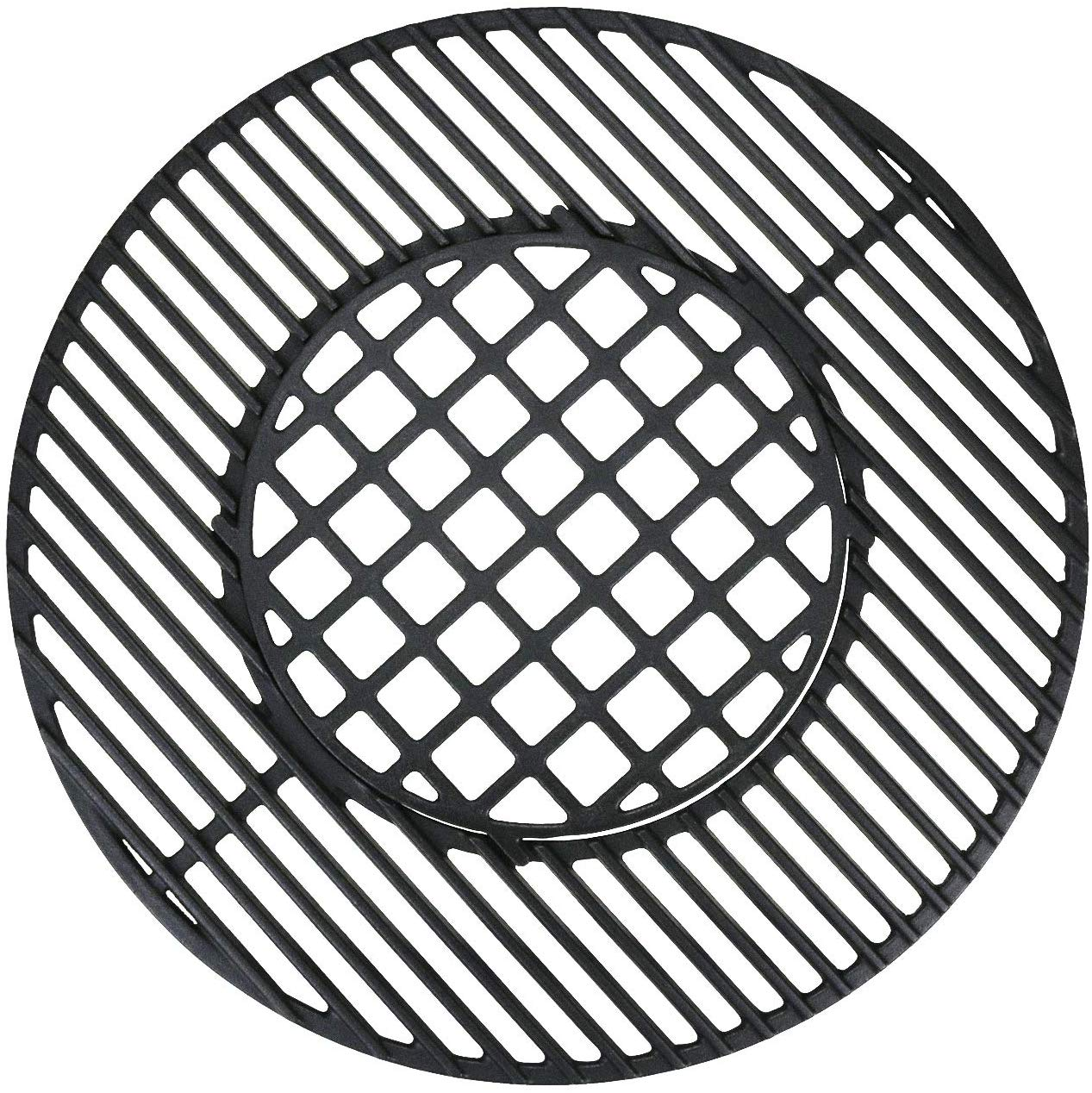 Cast Iron Gourmet Bbq System Cooking Grate For 22 1 2
