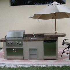 Outside Kitchen Designs Fork Outdoor Grilling Patio Idea Kitchebs Pinterest
