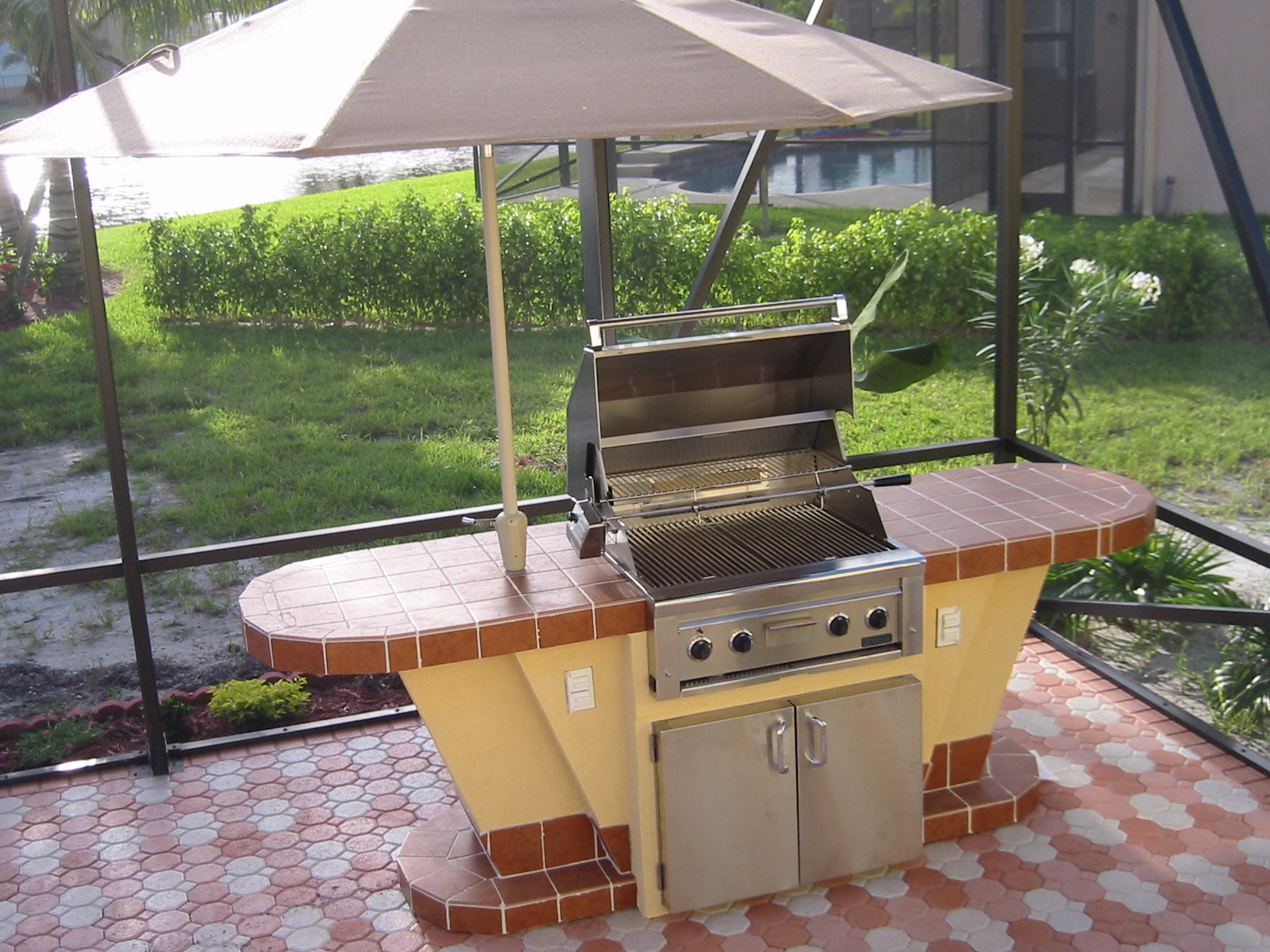 Outdoor Kitchen Design Images  GRILLREPAIRCOM barbeque grill parts