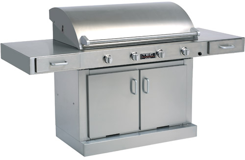tec infrared gas grill burner grill