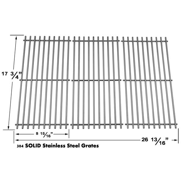 GRILL PARTS REPLACEMENT FOR BRINKMANN STAINLESS STEEL