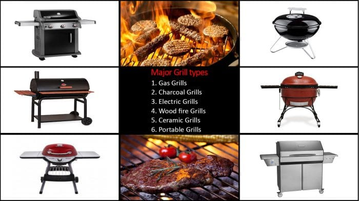 6 Major Types Of Grills Which One Do You Want? Grills