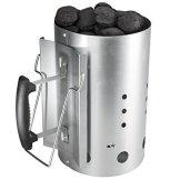 Bruzzzler Anzündkamin mit Sicherheitsgriff - Grillkohleanzünder Brennsäule 30 x 19cm -