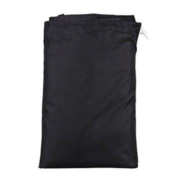 GHB BBQ Grillabdeckung Gasgrill Schutzhülle Abdeckhaube Haube 145 x 61 x 117cm schwarz -