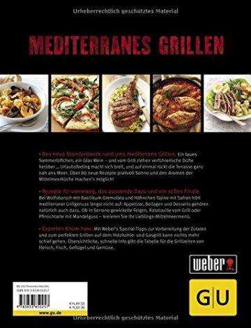 Weber's Mediterranes Grillen (GU Weber Grillen) -
