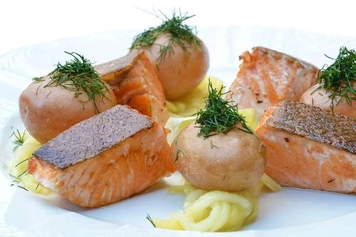 Salmon prolongs your life