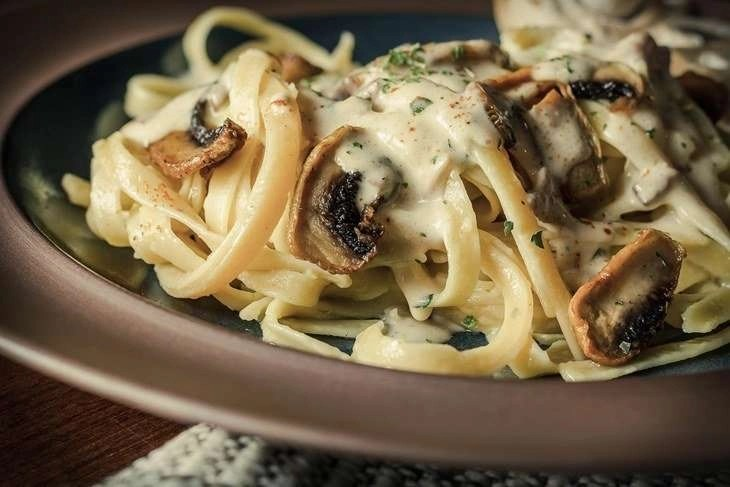 Fancy organic fetuccine pasta