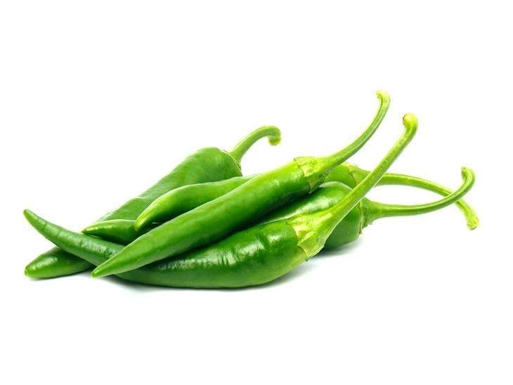 green chilies