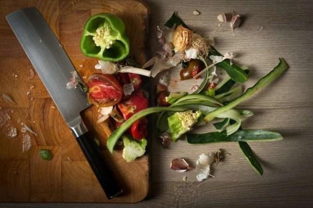usuba kitchen knife.