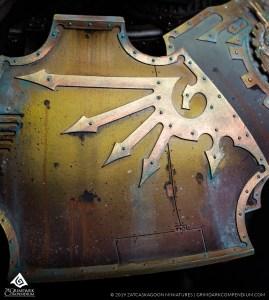 How to Paint: Legio Gryphonicus - Advanced Metallics