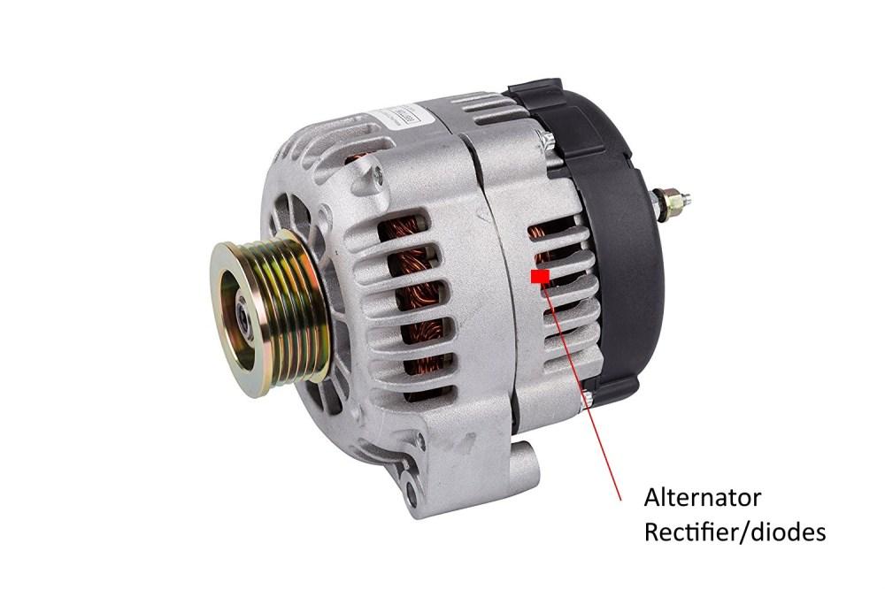 medium resolution of alternator
