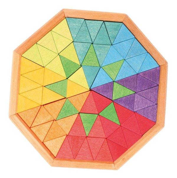 Puzzle wpisane w ośmiokąt
