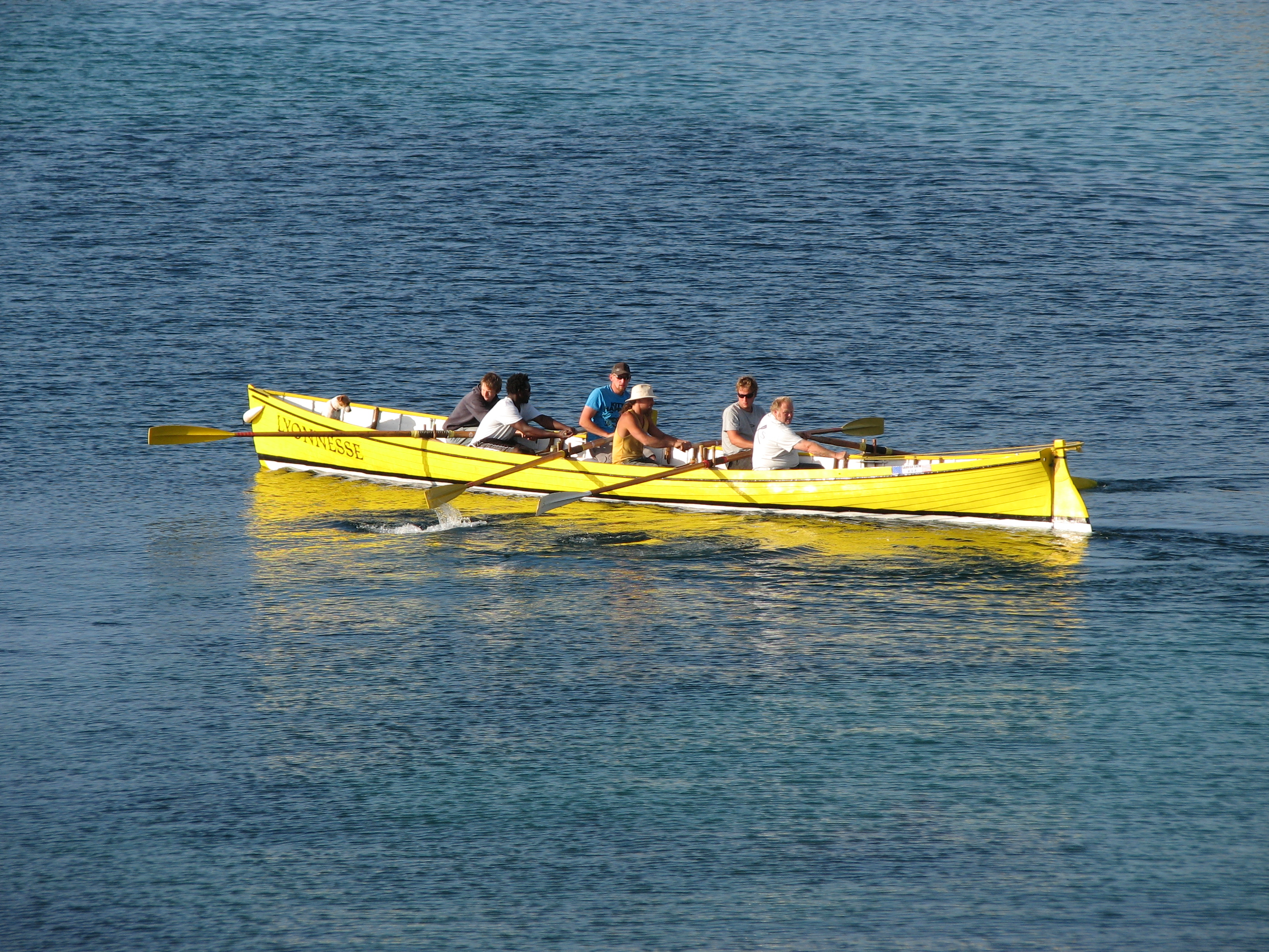 Traditional Gig Race Boat