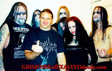 George Corpsegrinder and Dark Funeral