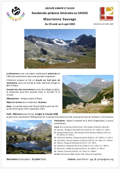 Maurienne 2020