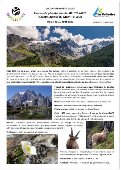 Mont Pelvoux 2020