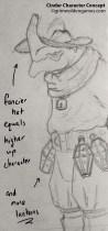 Cinder Characer Concepts 06