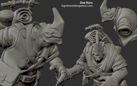 One Horn Concept 68