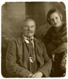 Григорій Шевченко з донькою Євгенією.