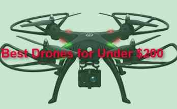 Best drones for under $200