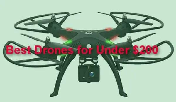 Best drones for under $200