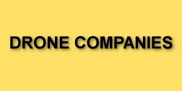 drones companies