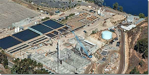 Miramar water treatment plant