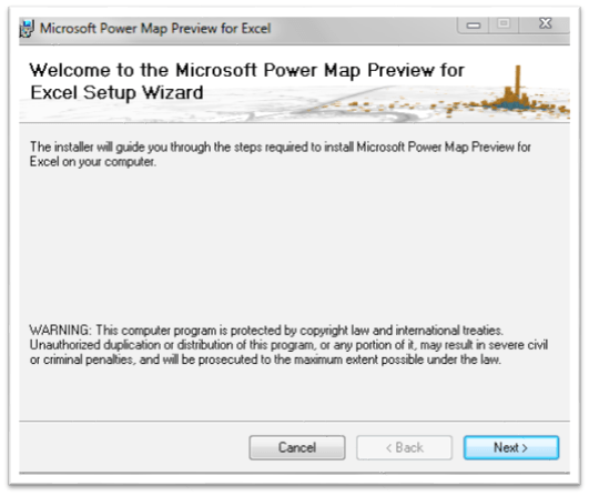 Create Maps On Microsoft Excel 2013 Using Power Map