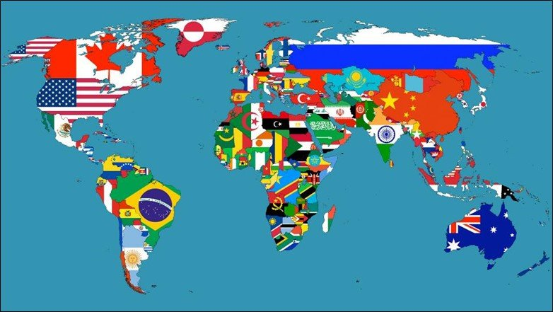 Beautiful Map Of The World.50 Beautiful World Maps Portrayed By Different Things
