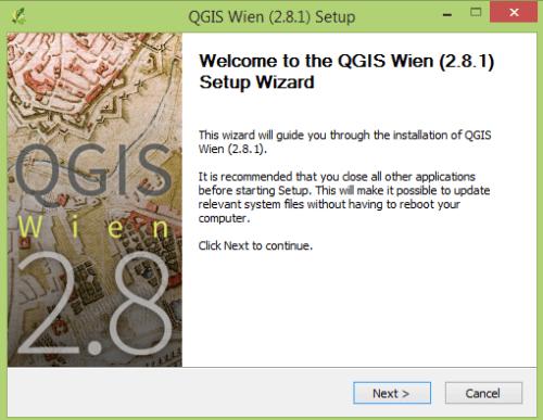 QGIS Setup
