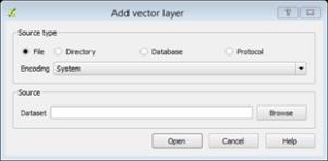 add vector layer window