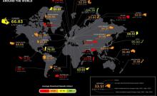 internet usage map